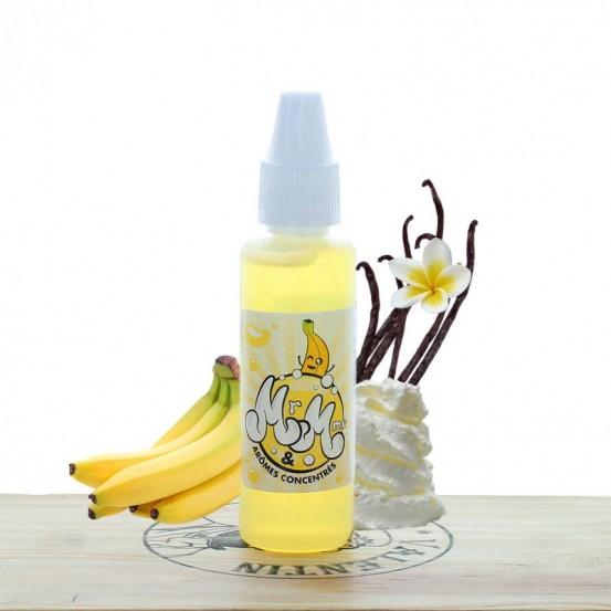 Concentré Banane Custard 30ml - Mr & Mme