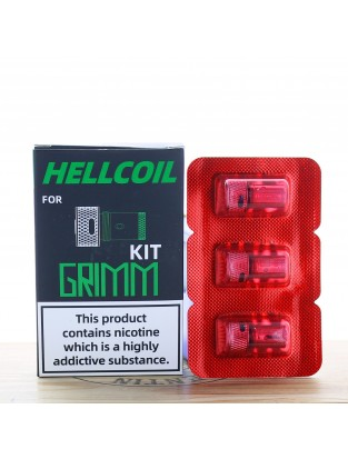 Hellcoil H3-01 Grimm 0.7 Ohm (Pack de 3) - Hellvape