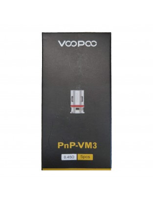 Résistance PnP Mesh VM3 0.45ohm (Pack de 5) - Voopoo