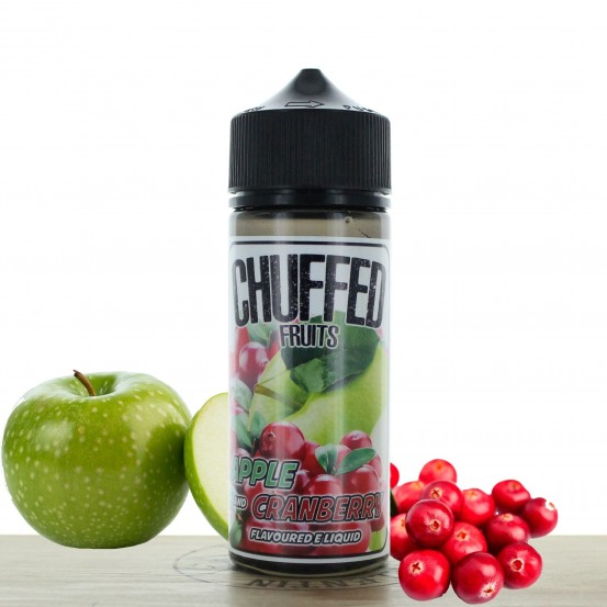 Apple & Cranberry 100ml Chuffed